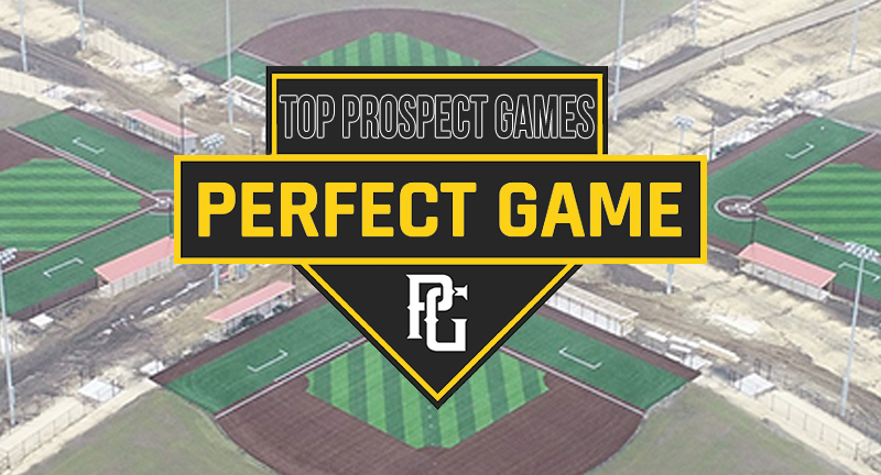 Perfect Game Baseball Showcase Schedule